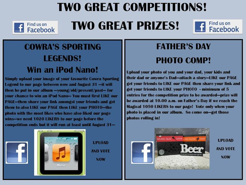 FACEBOOK COMPETITIONS